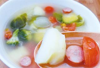 豚バラと白菜のミルフィーユれもん鍋
